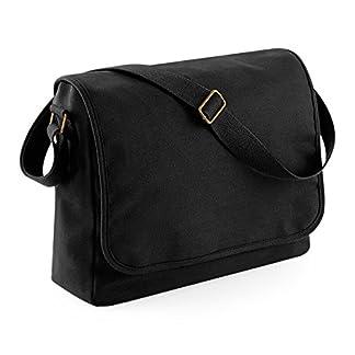 BagBase bolsa de viaje Hombre de fin de semana lona de la vendimia 51x33x24cm 30L vacaciones de mano
