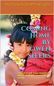 how owen sheers presents coming of Coming home  owen sheers (1974-)  sheers presents a view of familial love  as being at both constant and ever changing through the contrast between the.