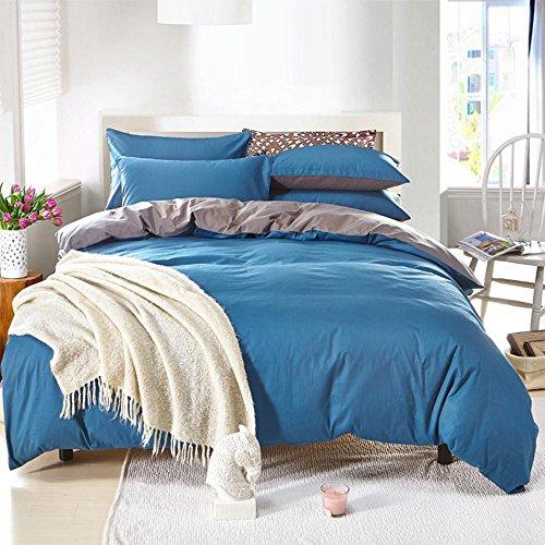 Einfache feste Farbe Baumwollsteppdecke Bettwäsche eine vierköpfige Familie Bettwäsche , 1.2m