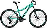 Ghost Lanao 1.6 AL W 26R Woman Mountain Bike 2019 (XXS/34cm, Jade Blue/Night Black)