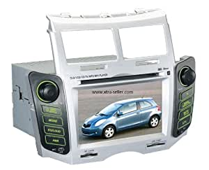 Station Multimédia Mobile Autoradio HD GPS DIVX IPOD DVD MP3 USB SD RDS Bluetooth PIP disque dur 2 Go avec CAN BUS pour Toyota Yaris