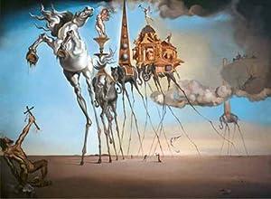International Publishing RICORDI Gold - Puzzle (250 Piezas), diseño de La tentación de San Antonio de Dalí