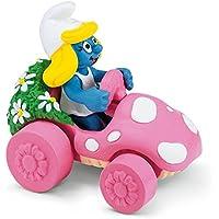 Schleich Figura pitufina con coche (40265)