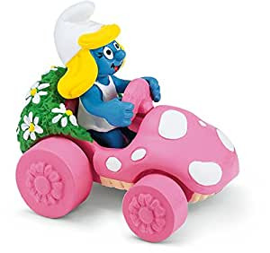 Schleich Smurfette in Car