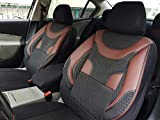 Sitzbezüge k-maniac | Universal schwarz-rot | Autositzbezüge Set Komplett | Autozubehör Innenraum | Auto Zubehör für Frauen und Männer | NO1925332 | Kfz Tuning | Sitzbezug | Sitzschoner