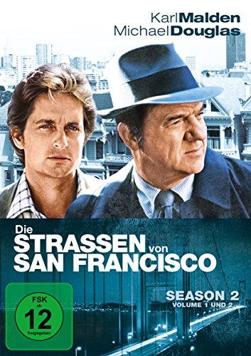 Die Straßen von San Francisco - Season 2, Volume 1 und 2 [6 DVDs]