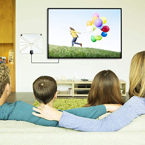 Jiayuane TV Antenne, Interior Digital HDTV Fernsehantenne ATSC DVB-T Signalverstärker - Power-indoor-antenne
