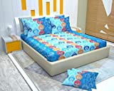 #7: SAGGI'S FITTED BEDSHEET size 72/76/8 inches, IS SPECIFICALLY DESIGNED IN SUCH A WAY THAT IT OFFERS COMFORT & EASE TO THE USER. 100 % COTTON SHEET IS SURROUNDED BY A VERY HIGH QUALITY, TEMPERATURE RESISTENT ELASTIC WHICH PROVIDES FREEDOM FROM TUCKING EVERY DAY! BEDSHEET'S VIBRANT COLORS EXUDES COOL VIBES AND IS DESIGNED IN SUCH A WAY THAT CALMS MIND & SOUL ONCE YOU ENTER THE ROOM.