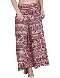 Hipe Indian Ethnic Designer Printed Casual Wear Palazzo Pant For Women's - B0752RWGBD