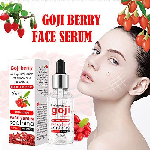 ( jieGREAT Räumungsverkauf  , Goji-Beeren-Serum für Gesicht topisches Gesichtsserum mit Hyaluronsäure-Vitamin)