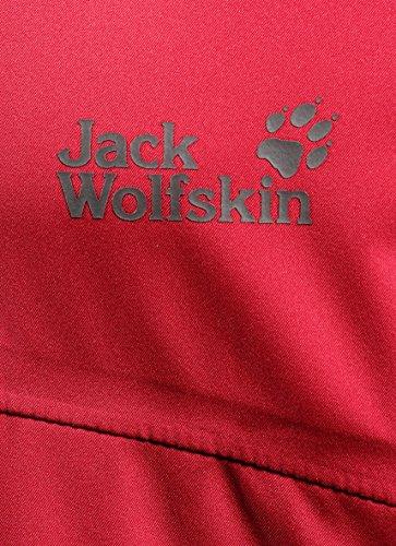 Jack Wolfskin HIGH VOLTAGE JACKET MEN red fire