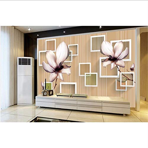 custom 3d wallpaper Box Magnolia hintergrund wandbilder wallpaper 3d blume 3d wallpaper für zimmer Magnolia Box