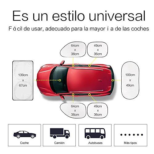 6-Parasole-per-auto-tutte-finestra-posteriore-anteriore-lato-accessori-auto-pieghevole-Parasole-esterno-facile-prevenzione-solare--Horsky