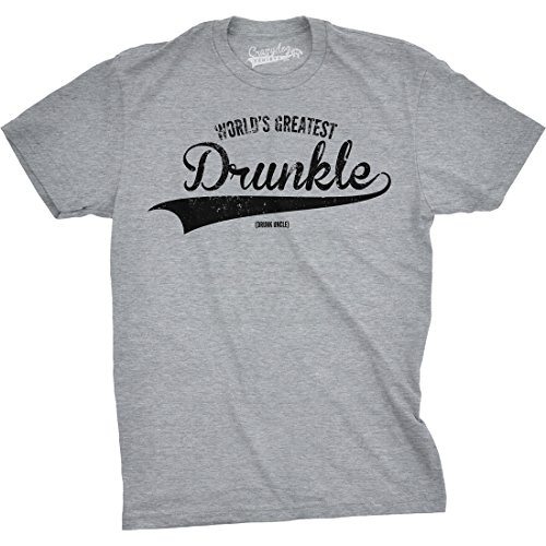 c3610d6141d Crazy Dog Tshirts - Mens Worlds Greatest Drunkle Funny Drunk Uncle Family  Relationship T Shirt (