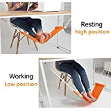 #7: Hammock Stand Office Foot Rest Stand Desk Feet Hammock Easy to Disassemble Study Indoor by Alex