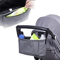 Pro Buggy Organizer Bag Wasserdichte Windel Nappy Fl/äschchen Aufbewahrungsbeutel mit Haken zum Aufh/ängen universell passend f/ür alle Baby Kinderwagen