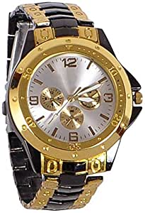 Xforia Analogue Men's Watch in Metal Band (Multicolour)