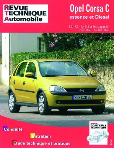 Revue Technique 741.1 Opel Corsa Essence et Diesel Depuis 10/00