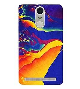 Bright Multicolour Pattern 3D Hard Polycarbonate Designer Back Case Cover for Lenovo K5 Note :: Lenovo Vibe K5 Note Pro