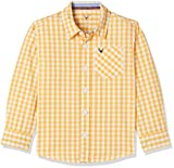 #4: Allen Solly Junior Boys' Checkered Regular Fit Shirt