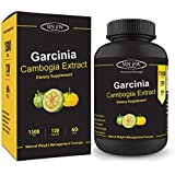Sinew Nutrition Garcinia Cambogia Extract - (120 Capsules) 1500 mg Per Serving