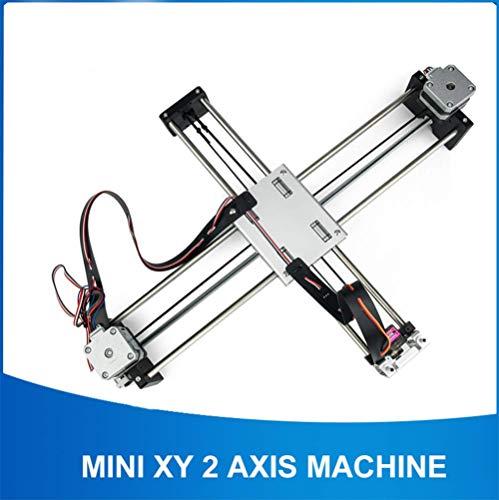 WANGYONGQI DIY Smart Schreiben Zeichnung Roboter Mini XY 2 Achsen CNC Stift Plotter Maschine Erweiterte Spielzeug Schrittmotorantrieb 32X22 cm Hub
