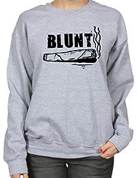Blunt Funny Stoner Cannabis Womens Sweatshirt