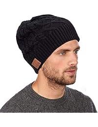 Senza Fili Bluetooth Beanie Cappello Bluetooth Senza Fili -Cuffie  Auricolari Stereo 30a673fe983a