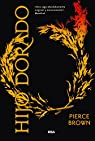 Hijo dorado par BROWN PIERCE