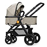 Unbekannt ERRU- Gefalteter Baby-Trolley/Zwei-Wege leicht tragen Winter und Sommer Dual Use Baby Kinderwagen Leichte Sitzbuggys (Farbe : B)