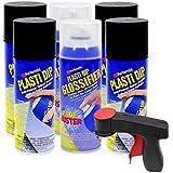 Plasti Dip Rim Kit: 4 Aerosol Cans Black