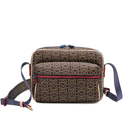 Ldyia Tasche Unisex Druck Tasche Druck Schulter umhängetasche diebstahlsichere Tasche männer Reisetasche Tasche, Druckfarbe
