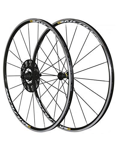 SELECTION P2R (Cycle) Roues Route 700 Mavic aksium Noir 11v. Compatible 10v. Shimano (Avant + Arriere) - Serie Limitee