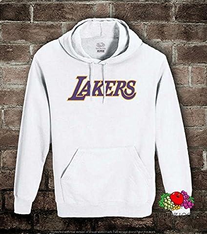 Felpa uomo-donna Lakers