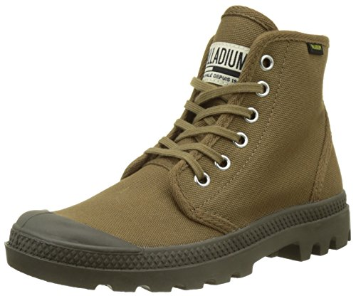 Palladium Pampa Hi Originale, Hohe Sneakers Mixte Adulte Vert (Butternut/tarmac)