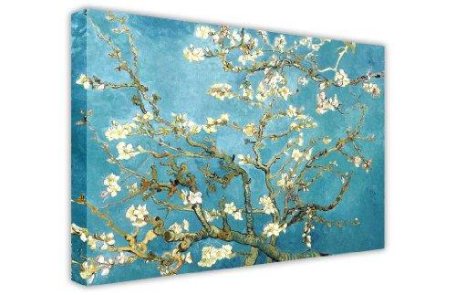 CANVAS IT UP Almond Blossom von Vincent Van Gogh Leinwandbild, Kunstdruck Landschaft-Foto Print Bild Home Dekoration Classic Masterpiece Ölgemälde Nachdruck - Dekoration Foto-print