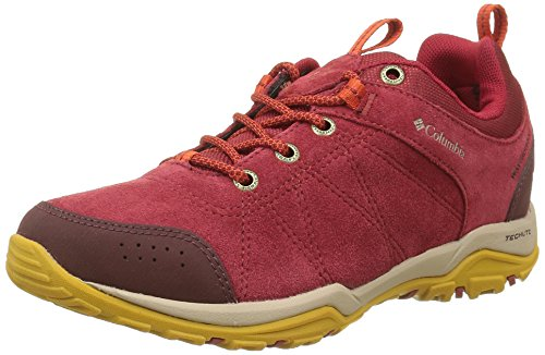 Columbia Fire Venture Low, Chaussures Multisport Outdoor Femme, Violet