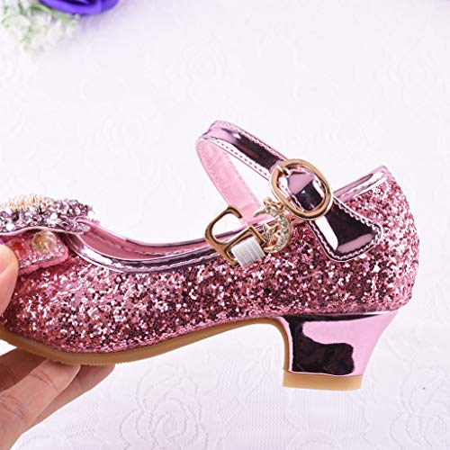 4245c5647 Mitlfuny Zapatos de Baile de Tango Latino para Niños Bailarina ...