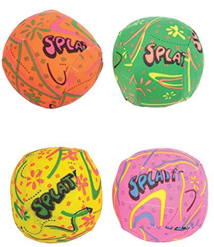 4 Stk Splash Ball für den Pool Wasserball oder Wasserbombe