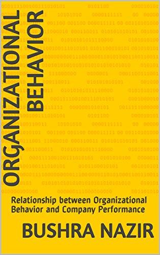 organizational behaviour and performance