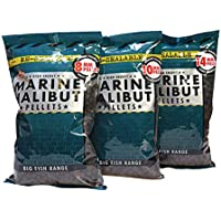 Dynamite Baits Marine Halibut Pellets de Carpa de Pesca, marrón, 21 mm