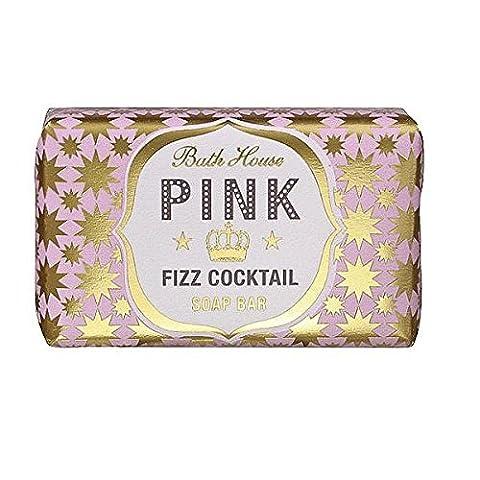 Pink Fizz Bath House Cocktail Soap Bar (Bath Soap Bar)
