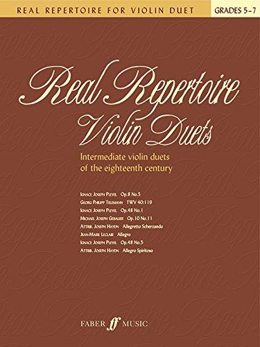 Real Repertoire for Violin Duet