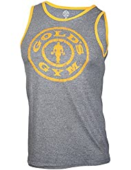 Golds Gym Muscle Joe contraste tanque de atleta, large