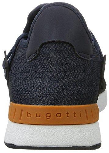 Bugatti - 341305606900, Pantofole Uomo Blu (Blu scuro e)