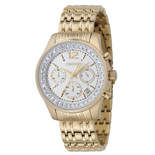 dkny-ny4464-chronographe-montre-femme-bracelet-en-or-ton-mtal