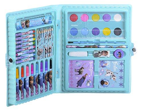 Disney – La Reine des Neiges – Mallette de Coloriage - 52 Pièces