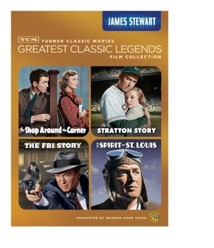 TCM Greatest Classic Legends: James Stewart (The Shop Around the Corner / The Stratton Story / The FBI Story / The Spirit of St. Louis) by James Stewart