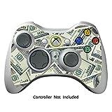 GameXcel ®  Xbox 360 Controller Skin - Schutz Vinyl-Aufkleber für X360 nehmen drahtlose Game-Controller - X3 Controller Abziehbild - Big Ballin [Controller nicht enthalten]