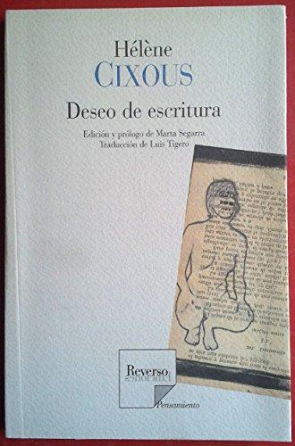 Deseo De Escritura por Helene Cixous